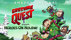 Costume Quest Presents Heroes on Holiday