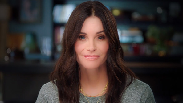 9 Months with Courteney Cox
